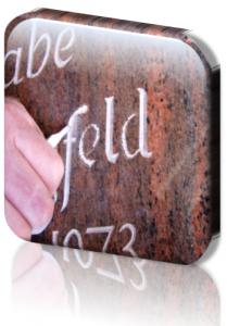 Grabinschrift erneuern