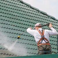 Dachreinigung mit Dachbeschichtung
