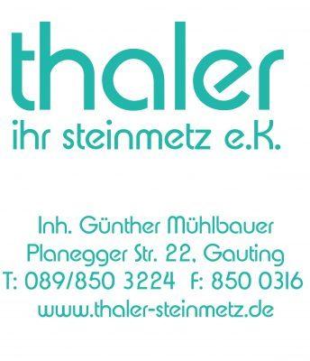 Unser Partnerbetrieb Steinmetzbetrieb Mühlbauer ehem. Thaler in Gauting