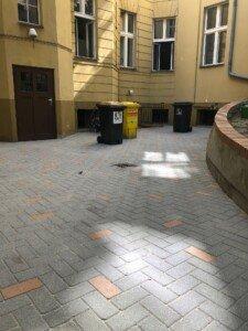 endergebnis der beton-pflastersteinreinigvon dach und stein