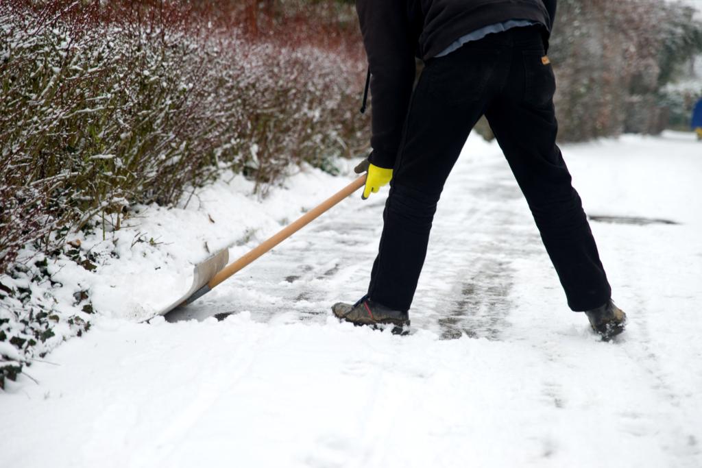 Gehweg Pflicht Winterdienst