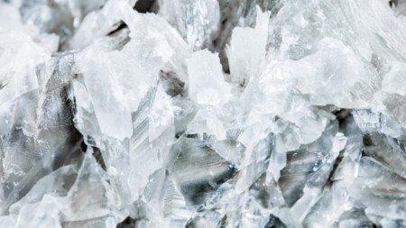 Calcit, Kalzit in weiß