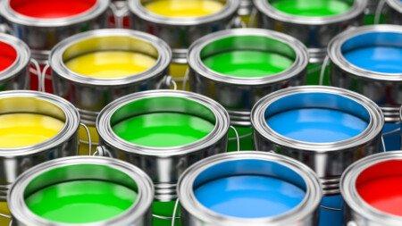 Kunststoffdispersionsfarben