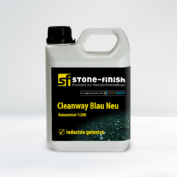 Stone Finish SteinRein Cleanway Blau