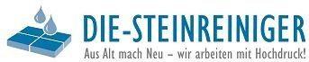 Das Logo der Firma Die-Steinreiniger in Österreich.