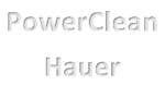 PowerClean Hauer Logo